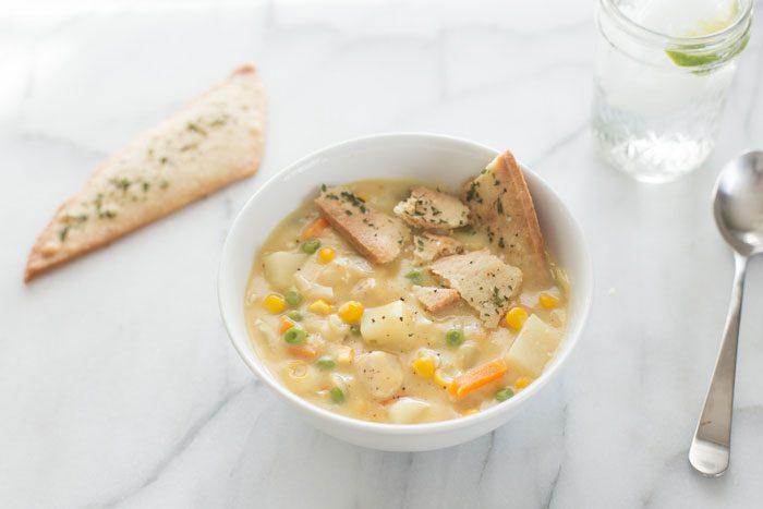 سوپ مرغ - مواد