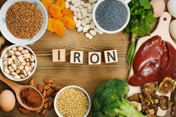 مصرف قرص آهن در دوران بارداری