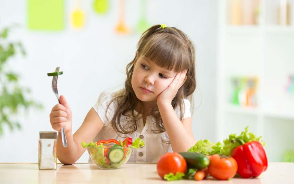 آموزش عادت های تغذیه سالم به کودکان