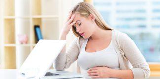 حالت تهوع بارداری در سه ماهه سوم