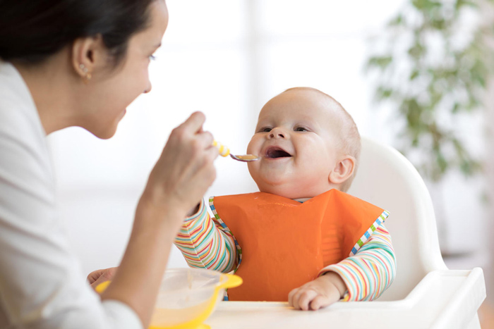 میزان نمک و شکر در غذای کودک