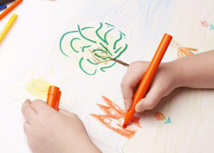 معنی نقاشی های کودک چیست
