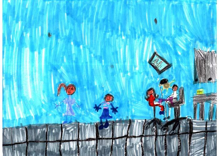 نقاشی های رایج کودکان