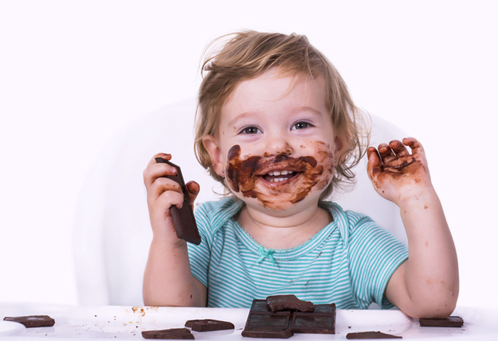 شکلات در رژیم غذایی کودک