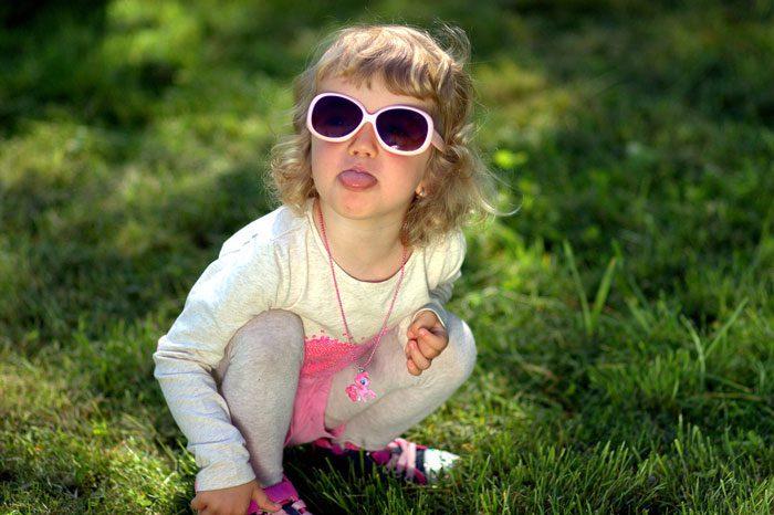 دوست یابی کودکان نابینا - تمرین