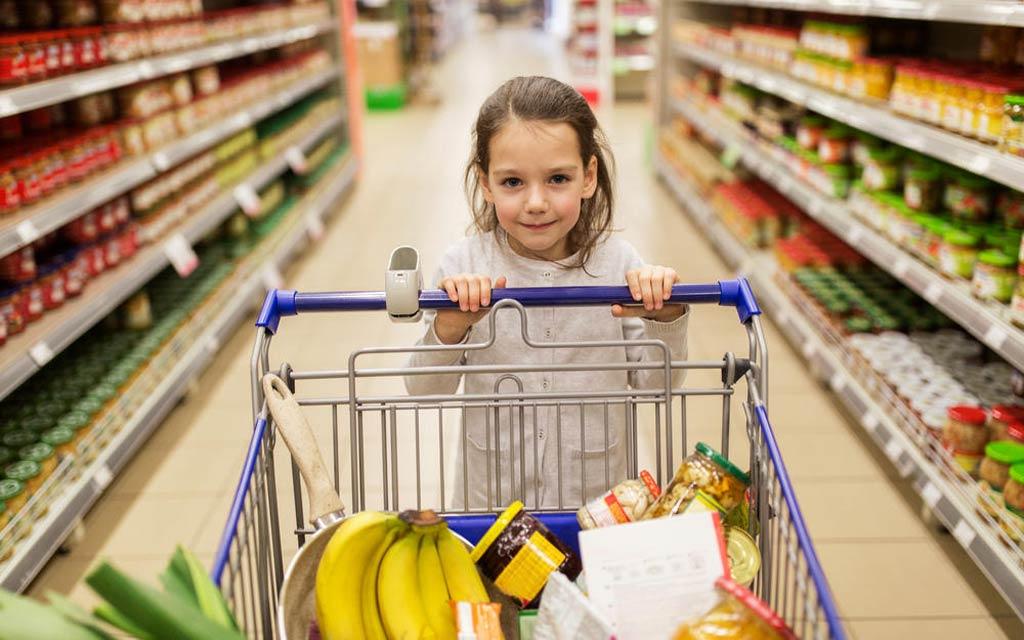 برچسب مواد غذایی کودکان
