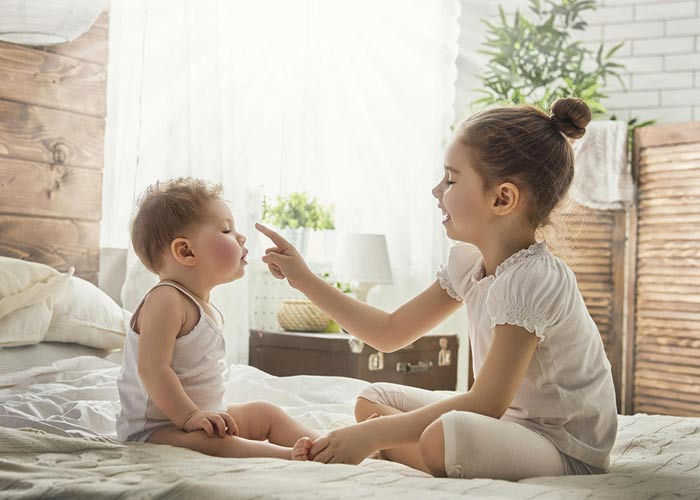 بچههای با فاصله سنی ۴ یا ۵ سال