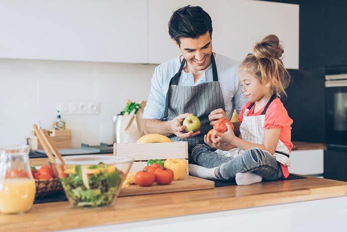 عادت های غذایی کودکان