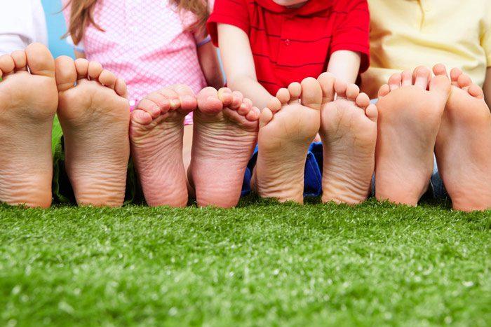 کفش مناسب برای کودک