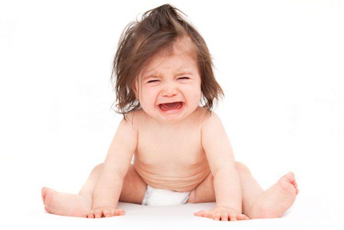 گریه کردن زیاد نوزاد