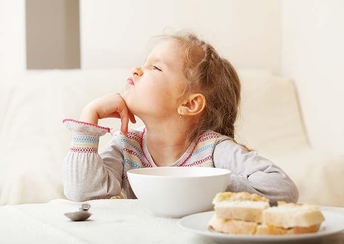 صبحانه نخوردن کودک