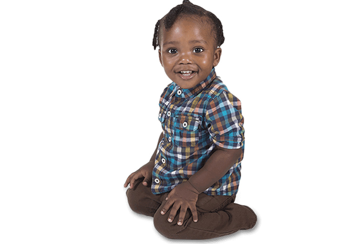 نشستن کودک به شکل w