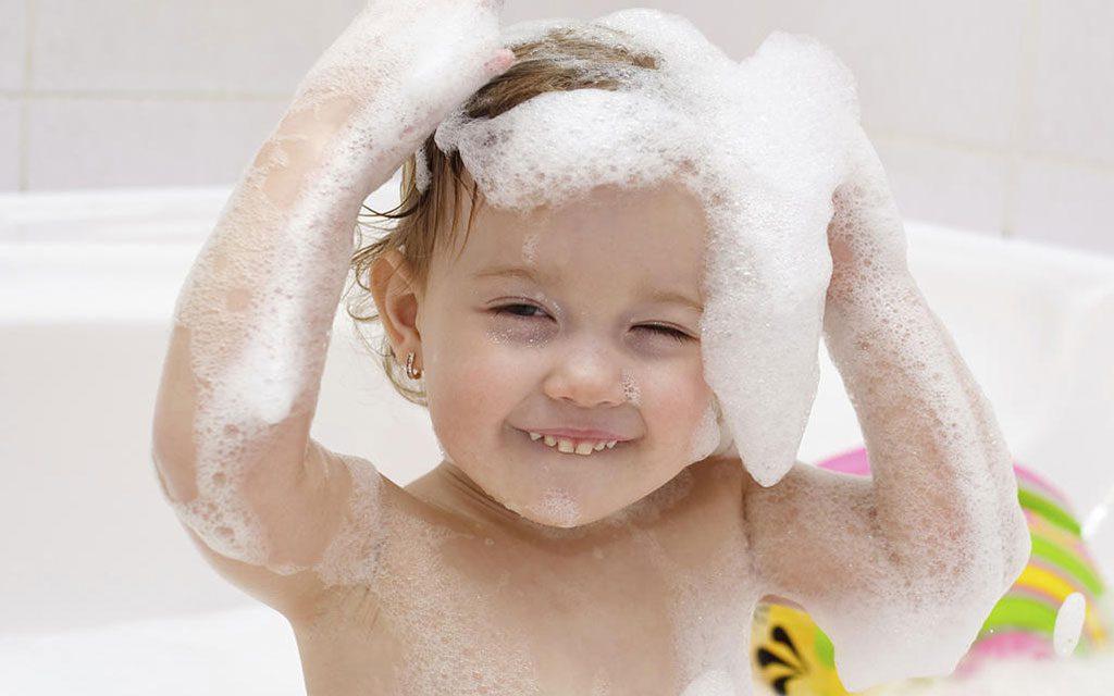 ترس کودکان از حمام