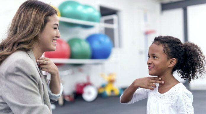 تاخیر گفتار در کودکان