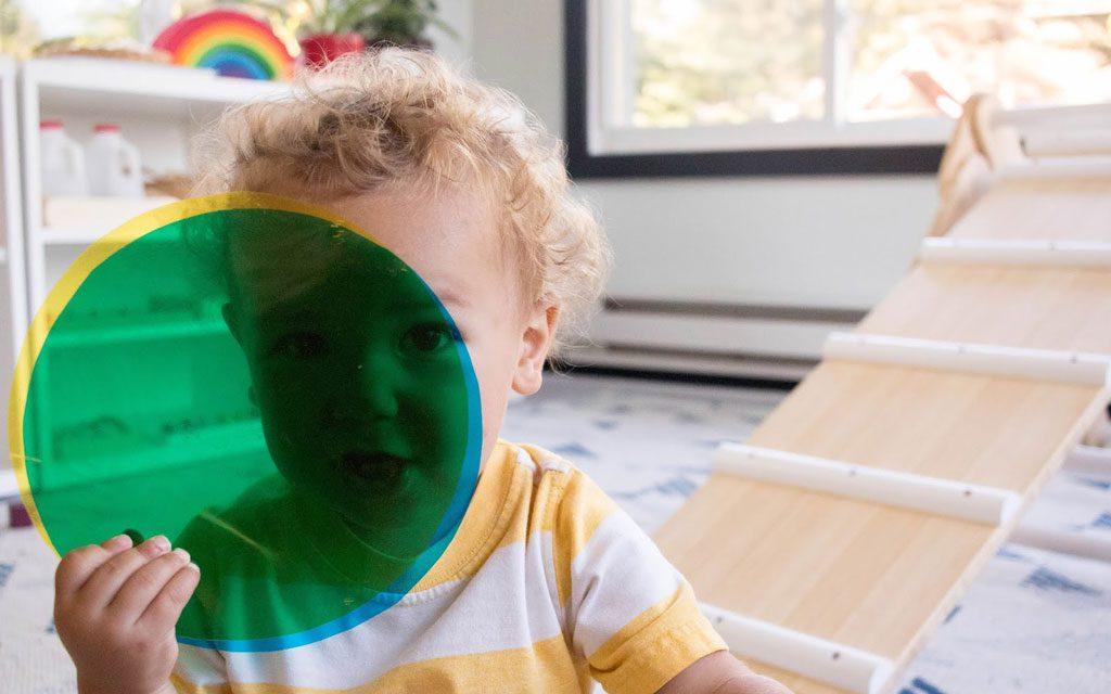کودکان و یادگیری رنگ