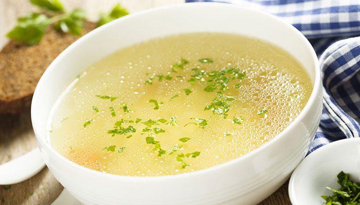 ۲. سوپ مرغ
