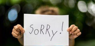 آموزش معذرت خواهی کردن به کودک