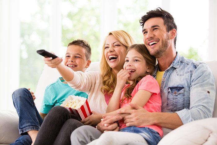 تماشای فیلم های خانوادگی