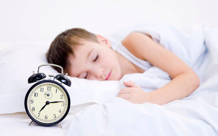 خوابیدن به موقع