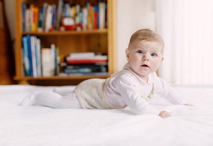 رفتار نوزاد سه هفته ای