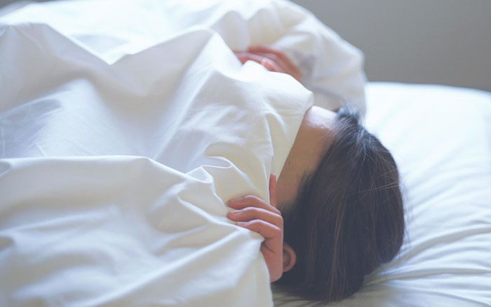 خوابیدن در دوران بارداری