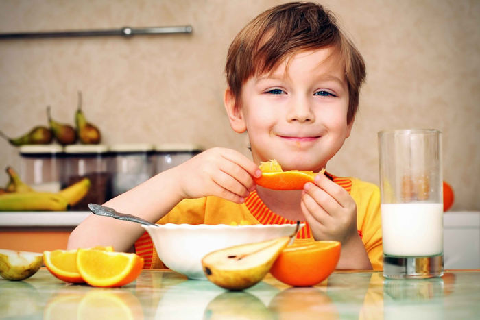 خوردن میوه ها و سبزیجات