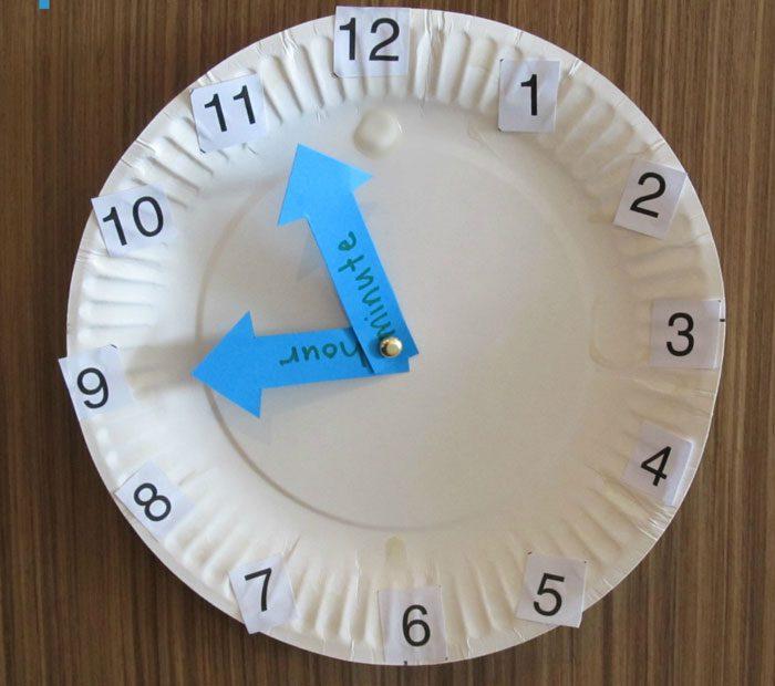 آموزش ساعت به کودکان - خواندن