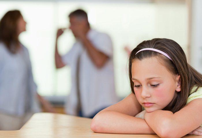 عوارض طلاق برای کودکان