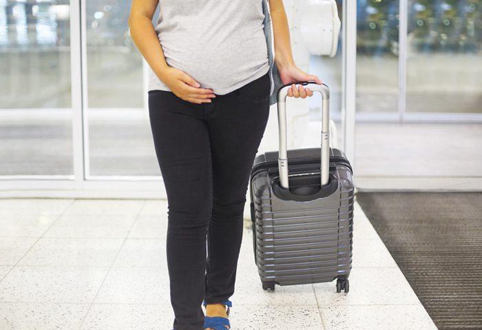 سفر در دوران بارداری