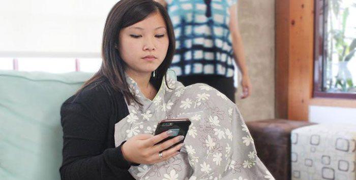تاثیرات تلفن همراه بر شیردهی