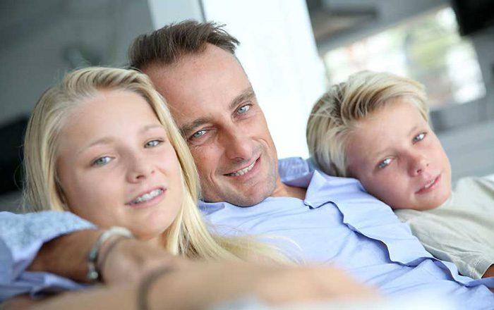 موفقیت پدران طلاق گرفته