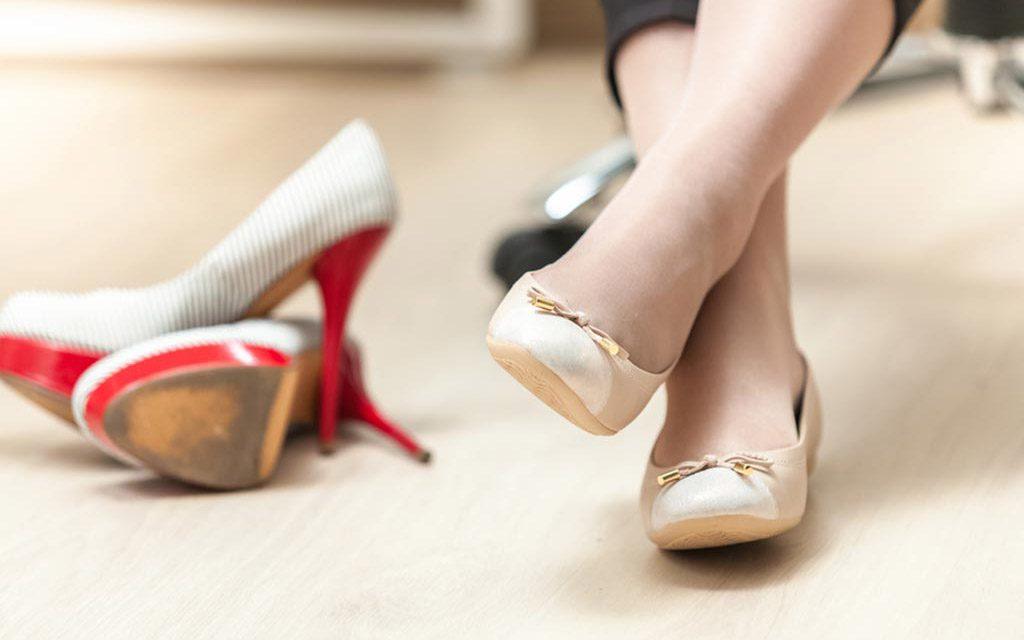 کفش مناسب بارداری
