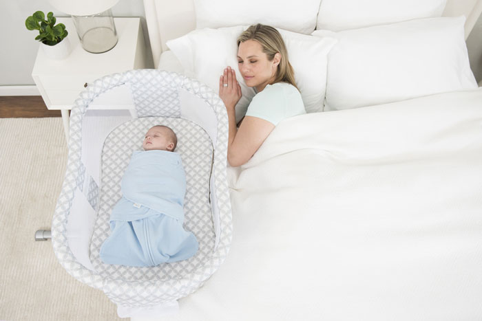 محل مناسب خواب نوزاد