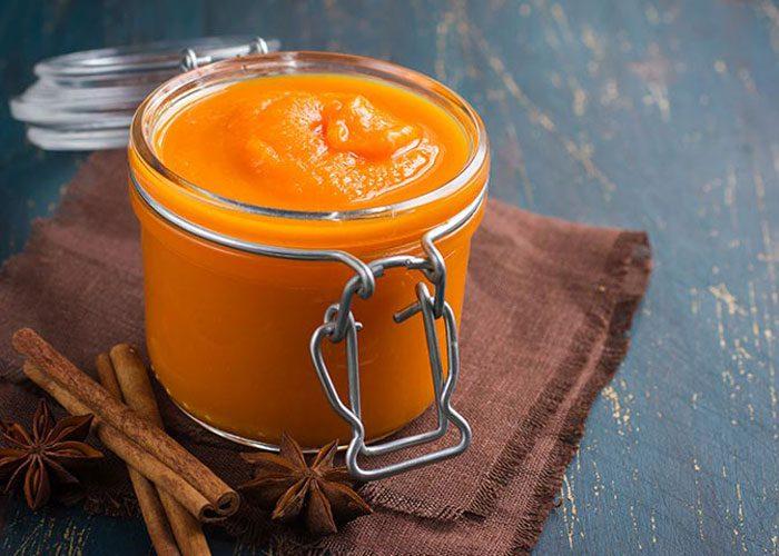 پوره پرتقال و هویج