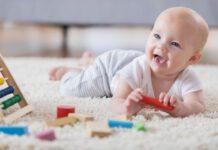 تقویت حواس در نوزادان