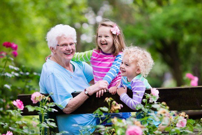 ارتباط کودک با پدربزرگ و مادربزرگ