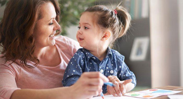 مزایای حرف زدن با کودک