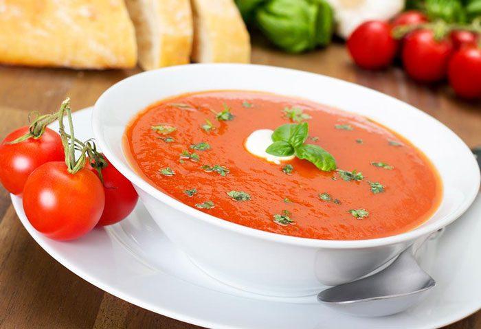 سوپ گوجه برای کودک