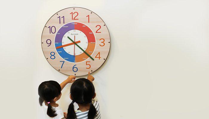 آموزش ساعت به کودک
