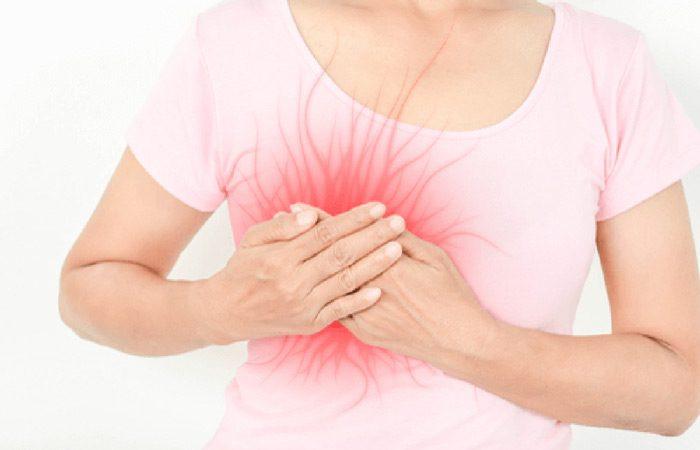 دوران شیردهی و درد در سینه