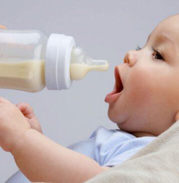 شیشه شیر برای نوزاد