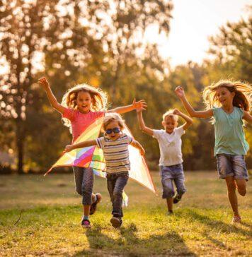فعالیت در طبیعت برای کودکان