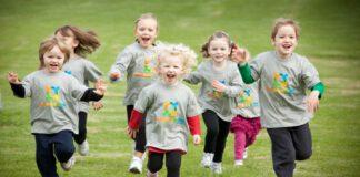 ورزش گروهی برای کودکان