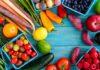 مواد غذایی رنگی
