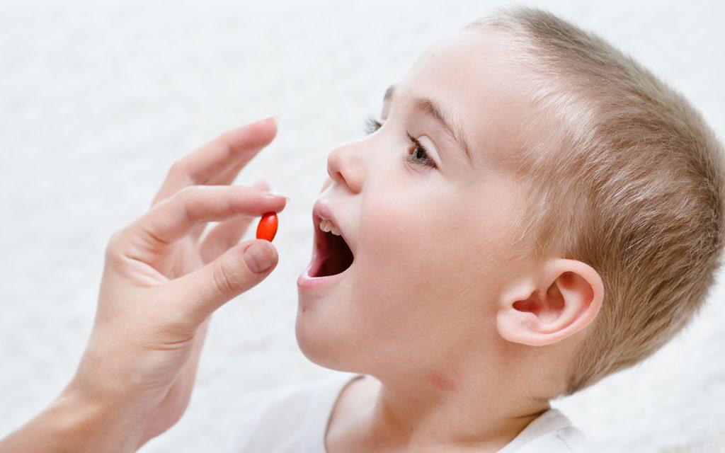 مصرف آنتی بیوتیک در کودکان