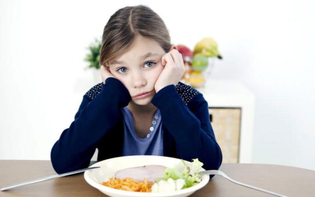 اختلال تغذیه در کودکان