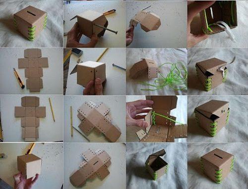طرز درست کردن صندوق صدقات