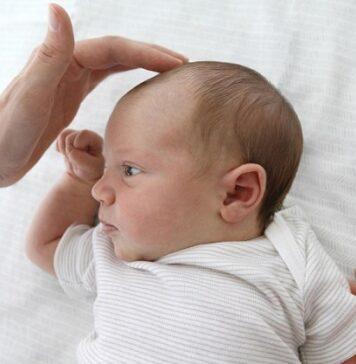 نقاط نرم روی سر نوزاد